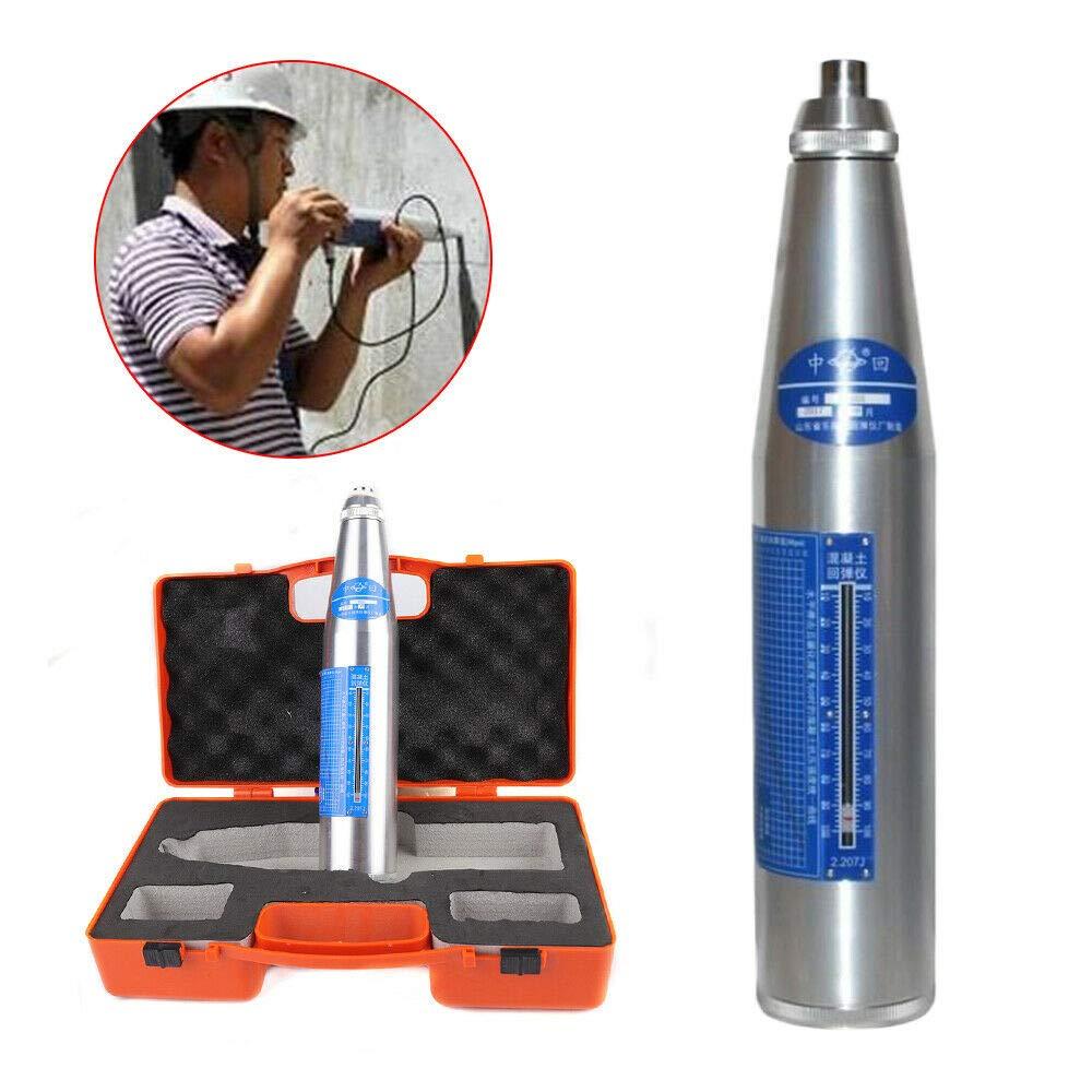 NDT Resiliometer Concrete Rebound Hammer Tester Rebound Schmidt Hammer Test tool