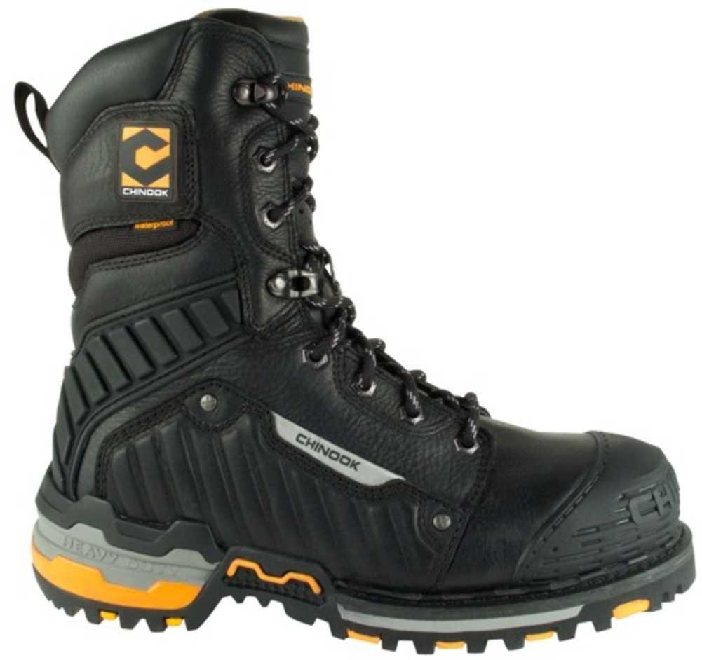 Chinook Footwear メンズ ブラック 10.5 D(M) US 10.5 D(M) USブラック B00EQERL3K