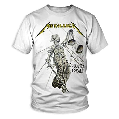 b1e5233247 Amazon.com: Metallica - and Justice for All - Adult T-Shirt: Clothing