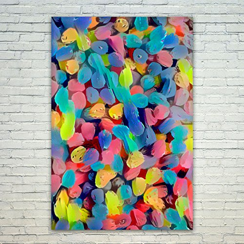 Westlake Art Candy Art - 12x18 Poster Print Wall Art - Abstr