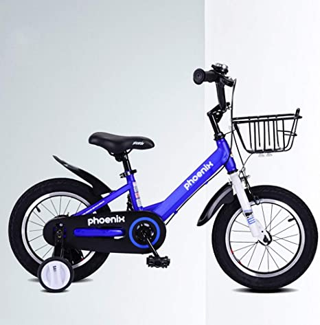 UOOGOU Bicicleta Infantil con Rueda Auxiliar Bicicleta Exterior ...