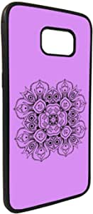 Decorative Drawings - Rose Printed Case for Galaxy Note 5
