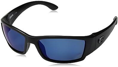 e132bb70e78 Costa Del Mar Cat Cay Sunglasses Blackout Blue Mirror 400Glass