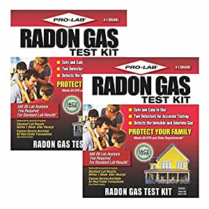 Pro lab radon gas test kit clamshell - The office radon test kit ...