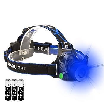 Blue LED Headlamp blood tracking light Blood Tracking Light