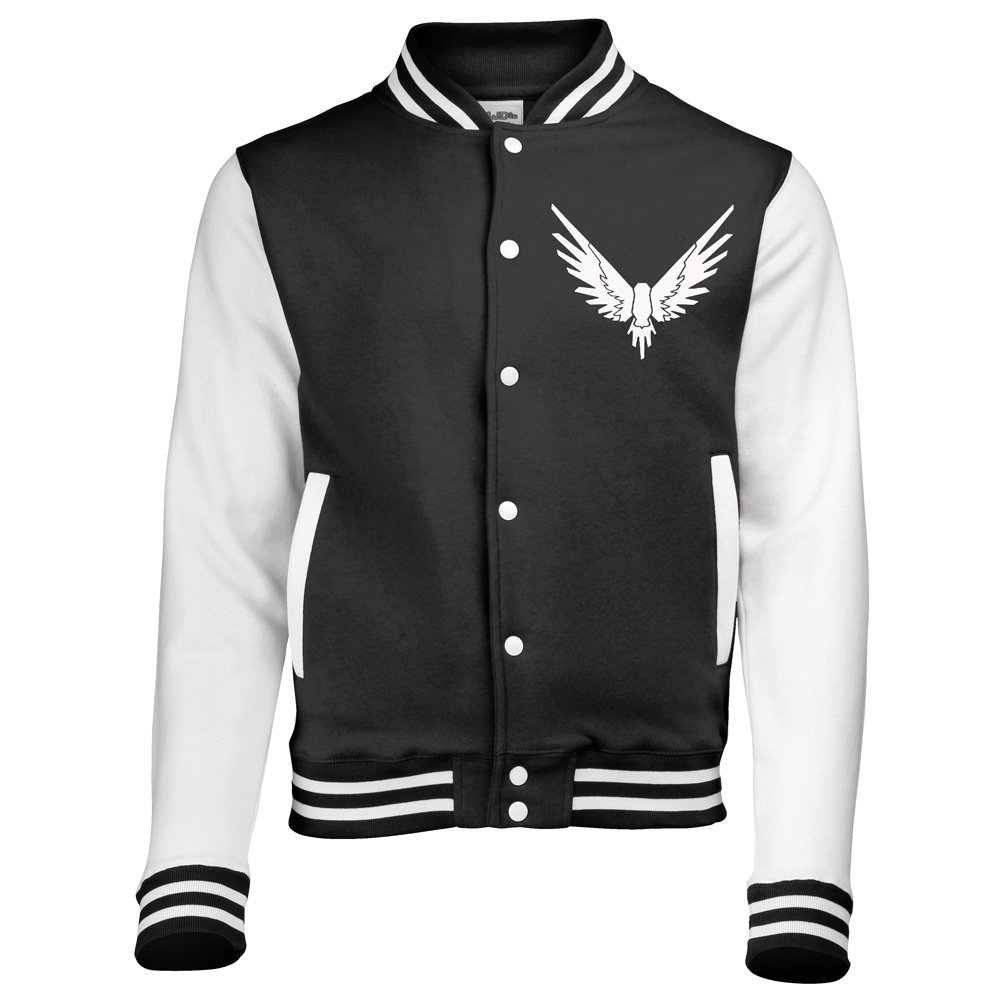 AWDis Maverick Bird Logang Varsity Jacket Unisex Various Sizes American Baseball Letterman