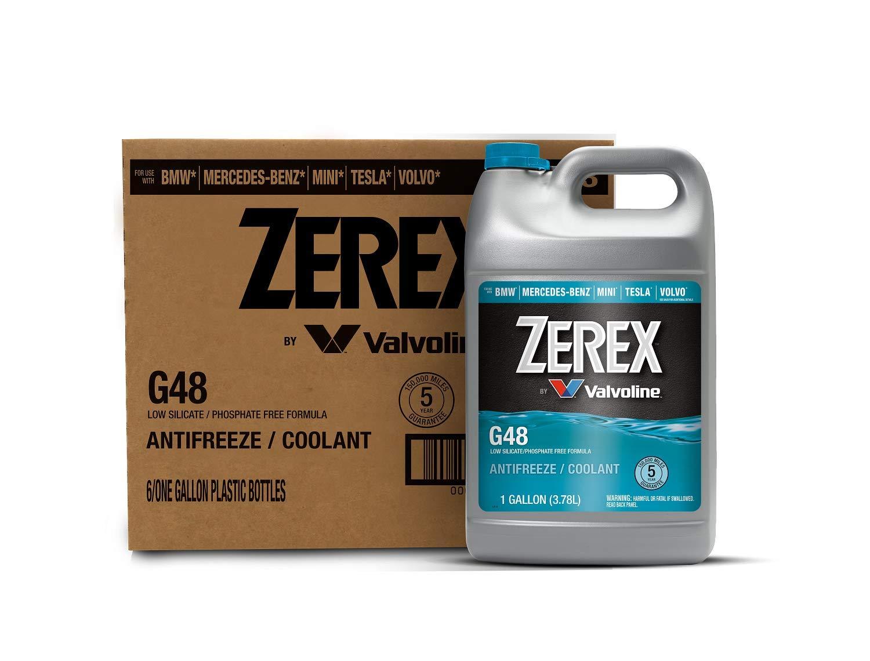 Zerex G48 Concentrate Antifreeze/Coolant 1 GA, Case of 6