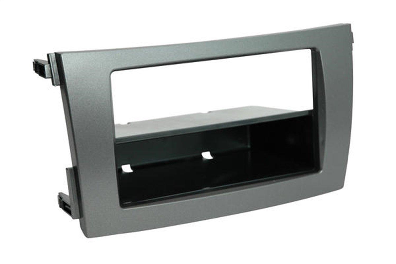 SCOSCHE TA2101DGB 2009-13 Toyota Corolla (Dark Grey) Double DIN or DIN w/Pocket Install Dash Kit