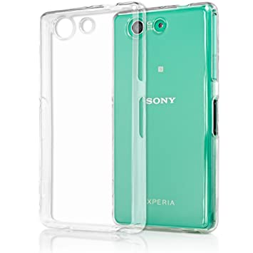 NALIA Funda Carcasa Compatible con Sony Xperia Z3 Compact, Protectora Movil Silicona Ultra-Fina Gel Cubierta Estuche, Goma Phone Bumper Cover ...
