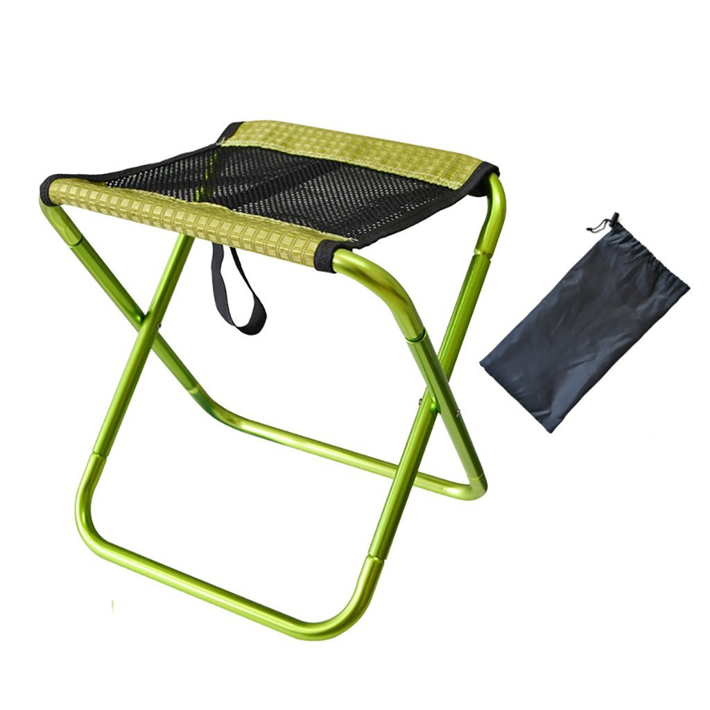 CHAOYANG Hotel luggage rack Metal luggage rack, hotel bedroom Foldable Luggage Rack, Suitcase Stand, Holding Suitcases Backpacks as Luggage Support and Suitcase Shelf。 (Color : Green)