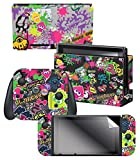 "Nintendo Switch Skin & Screen Protector Set – Splatoon 2 ""Stick Em' Up"" – Nintendo Switch Review"