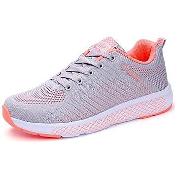 32d6a38a Zapatos de cuña cómodos para Mujeres Zapatos de Plataforma para Caminar  Zapatillas de Deporte Respirables Tenis