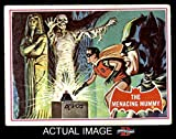 1966 Topps Batman Red Bat # 3 The Menacing Mummy (Card) (Series has a Red Bat on Front) Dean's Cards 2 - GOOD