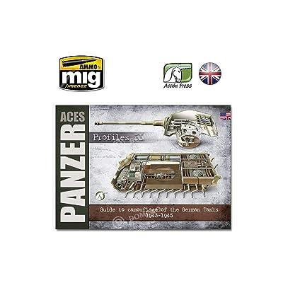 AMMO EURO-0017 Panzer Aces-Profiles Vol. 2 English, Multicolour: Carlos de Diego Vaquerizo, Accion Press: Toys & Games