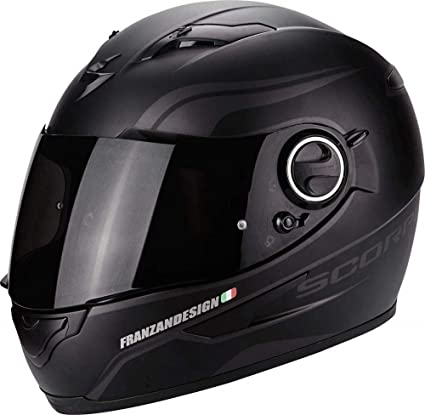 Scorpion Casco Moto exo-490, Matt black, XS