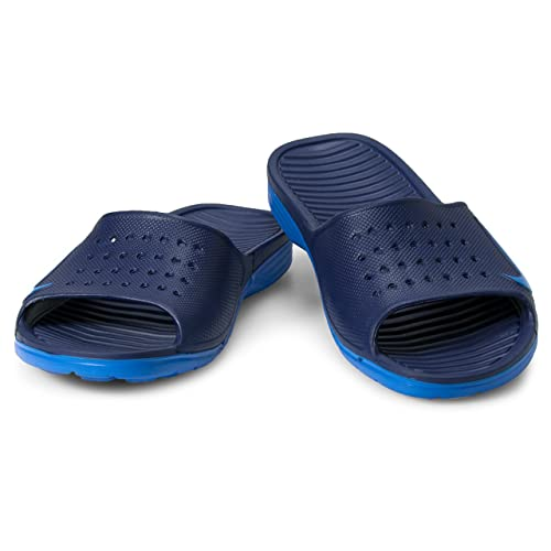 5aebef63f1799 Nike Solarsoft Slide Binary Blue Photo Blue Men s Sandals  Buy Online at  Low Prices in India - Amazon.in