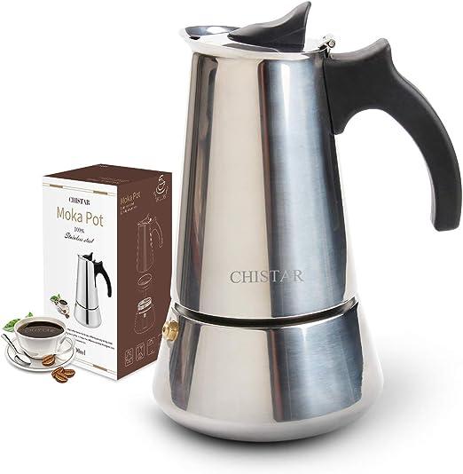 CHISTAR - Cafetera de espresso, cafetera para estufa, cafetera ...