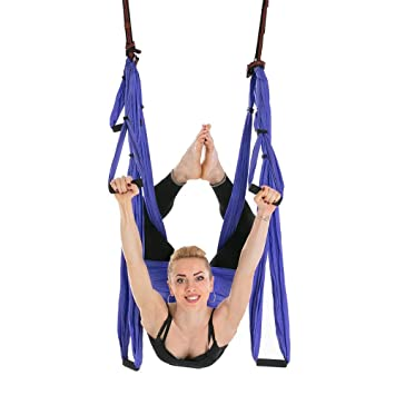 DZW Vuelo aéreo de Yoga, antigravity Ceiling Hanging Yoga ...