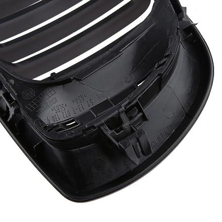 Rejillas De La Parrilla De Riñón Negros Para BMW E46 4 Puertas Serie 3 Berlina Gira 02-05: Amazon.es: Coche y moto