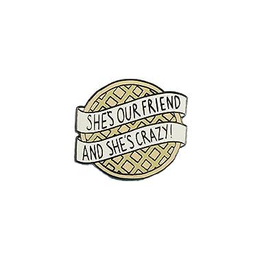Captivating Punky Pins Eggo Stranger Things Inspired Enamel Pin Badge   One Size