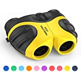 LET'S GO! Binocular for Kids, Compact High Resolution Shockproof 8X Bird Watching Toys Perfect for Outdoor Hiking Games - Best Gifts for 3-12 Years Old Kids
