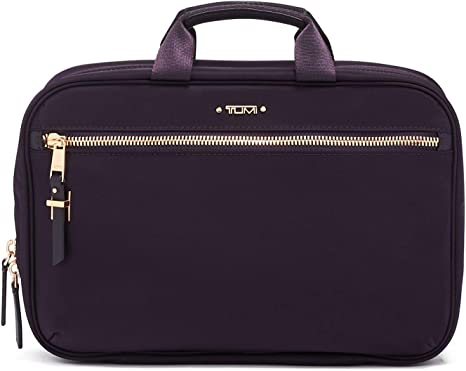 TUMI Voyageur Madina Cosmetic Bag Luggage Accessories Travel Kit for Women Blackberry