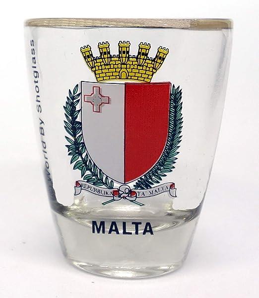 MALTA SHOT GLASS SHOTGLASS
