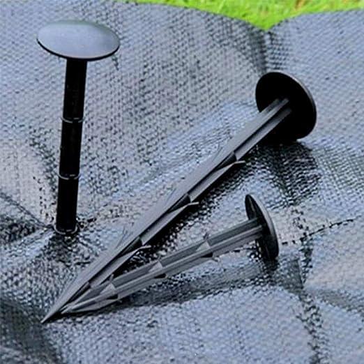 30 piezas 20 cm plástico Jardín piquetas estacas de fijación para ...