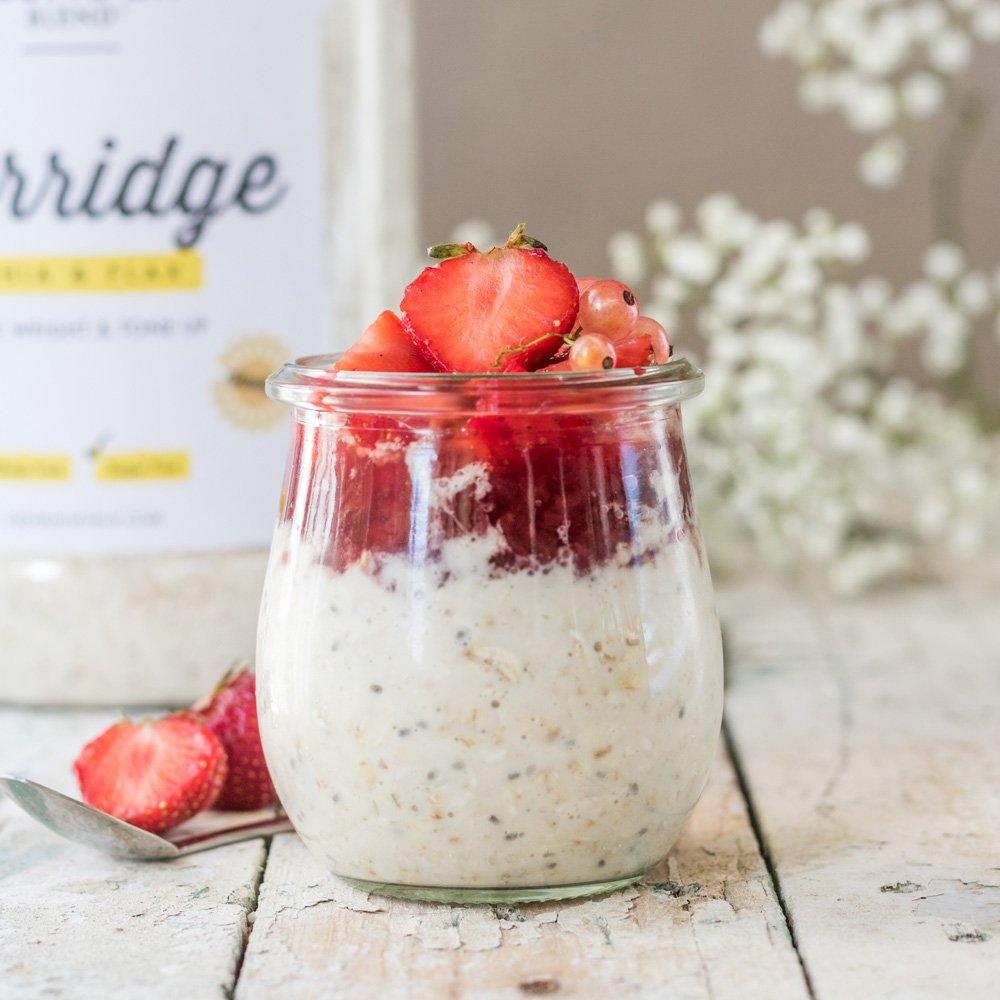 Protein World Slender Oatmeal Vanilla - High in Protein and Gluten Free
