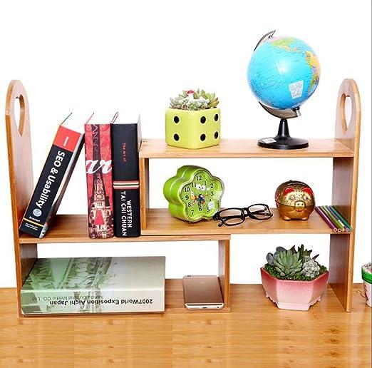 Regal Escritorio pequeña estantería, Estante de Escritorio Simple ...