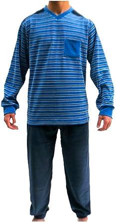 Algodonea - Pijama Caballero Terciopelo,