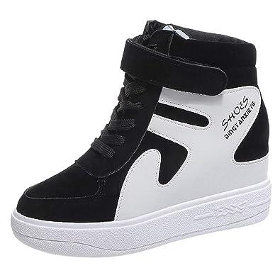 Sports De Baskets Patchwork Haut Ciellte Chaussures Femme 5wqUI5Xf