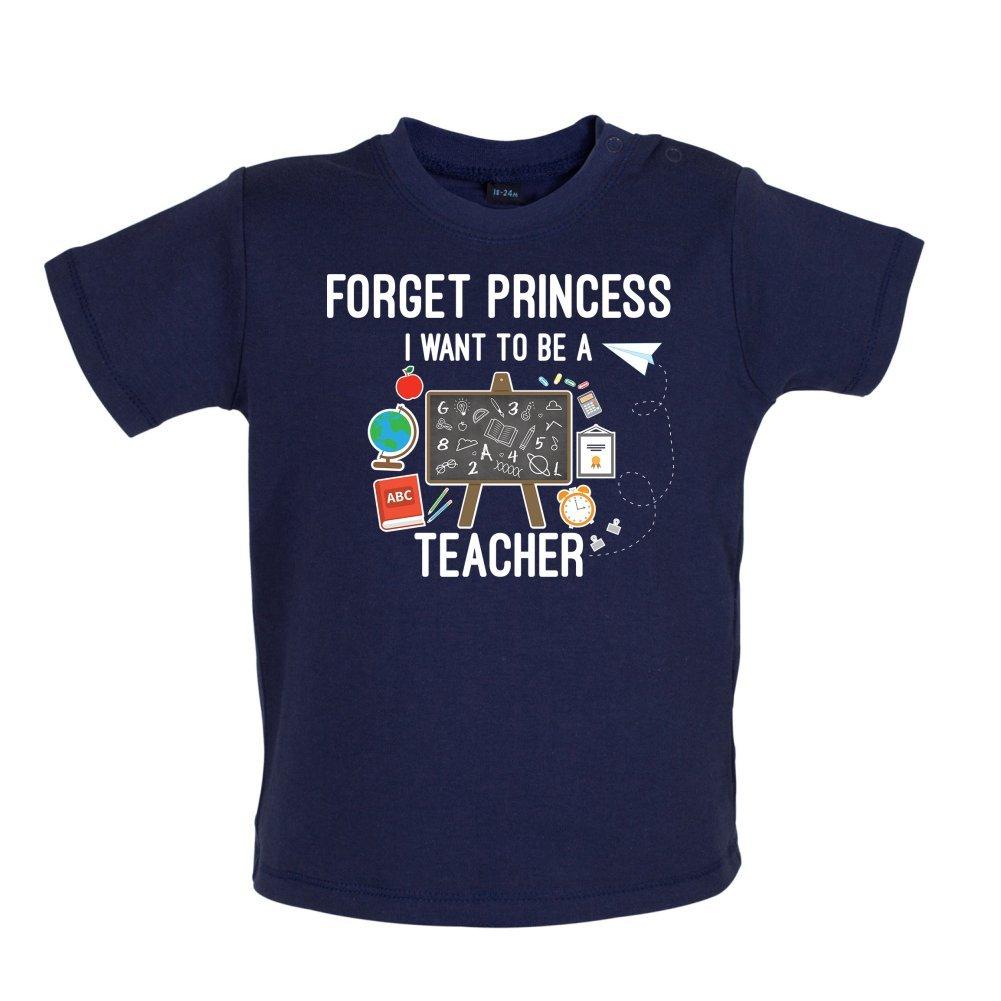 3-24 Months Teacher Baby//Toddler T-Shirt Dressdown Forget Princess