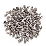 Pine Cones,Byher Mini Pinecones in Bulk for Crafts, 8OZ, Pack of 110 (White)