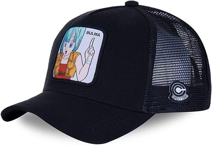 Capslab - Gorra de béisbol, diseño de Dragon Ball Z Bulma (Noir ...