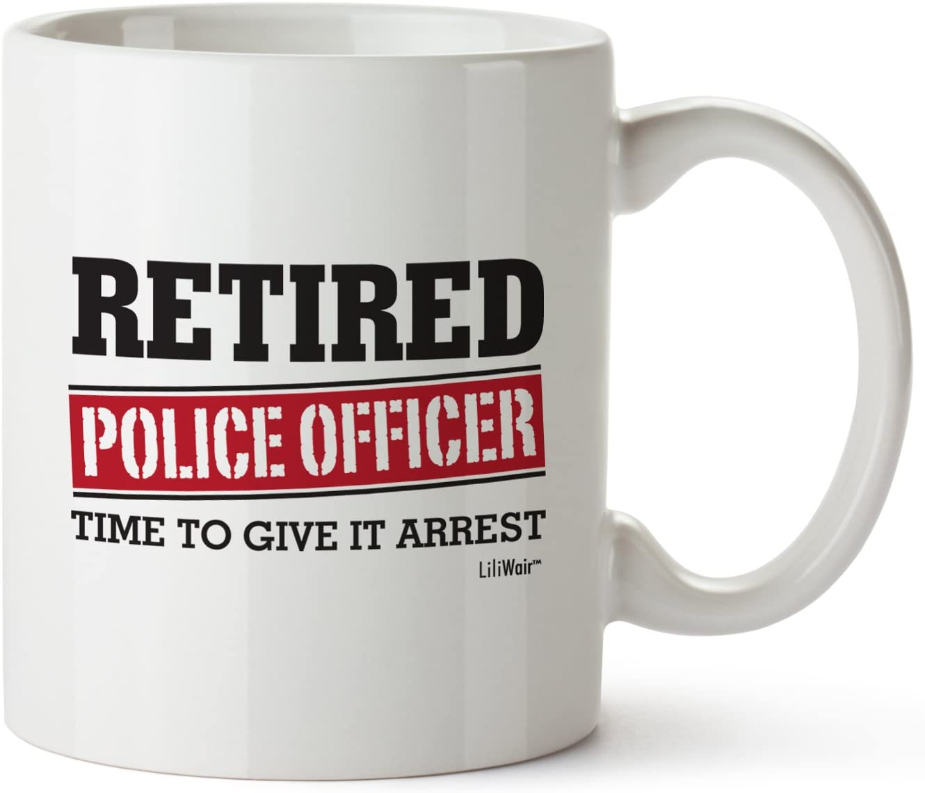 Amazon Com Retired Police Officer Gifts Mug Funny Christmas Retiring Retirement Gag Gifts For Women Men Dad Mom Retirement Coffee Mug Gift Retired Mugs For Coworkers Office Family Unique Ideas For Her