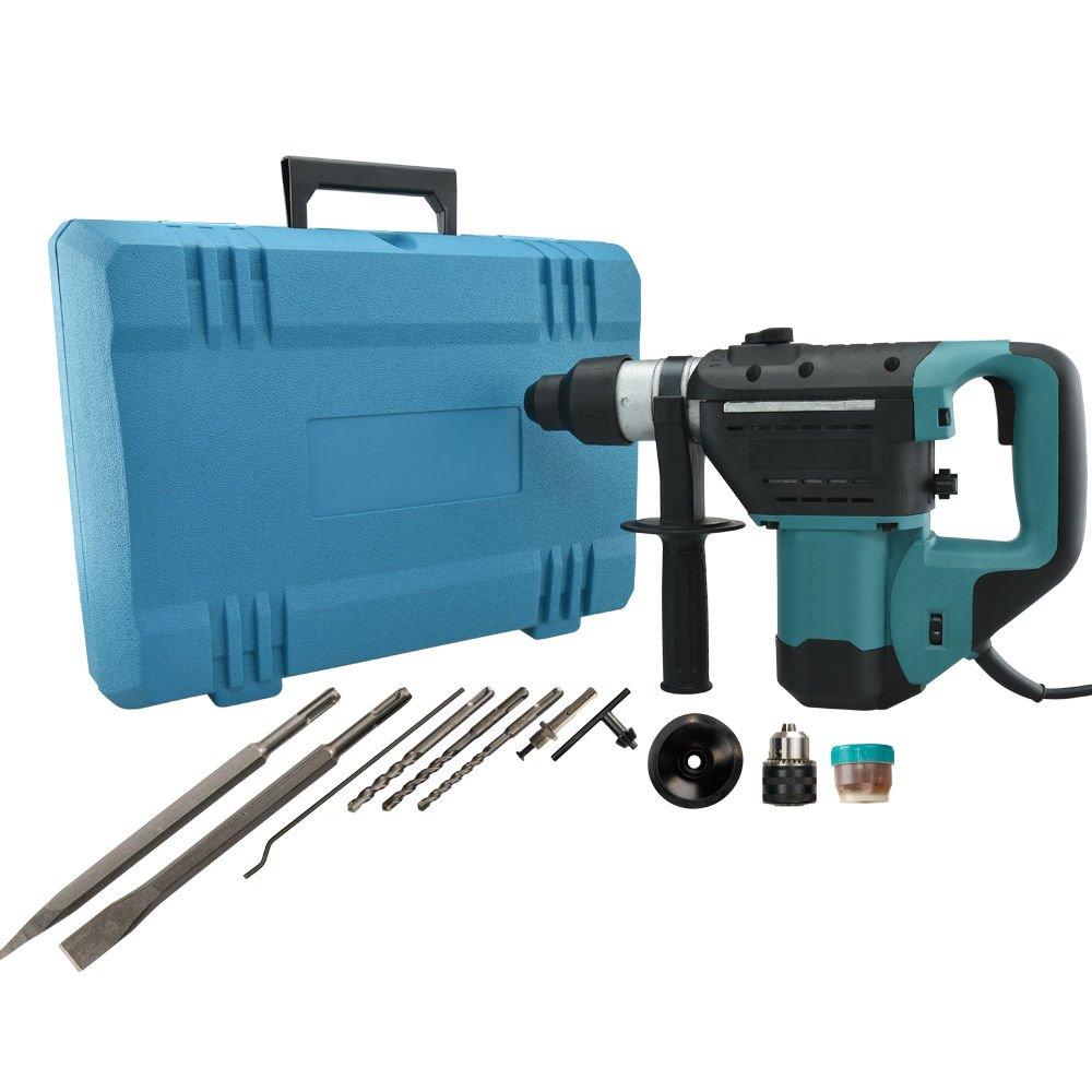 1-1/2'' SDS Electric Rotary Hammer Drill 110V Concrete Tile Breaker Chisel, New by Jikkolumlukka