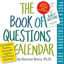 The Book of Questions Page-A-Day Calendar 2016