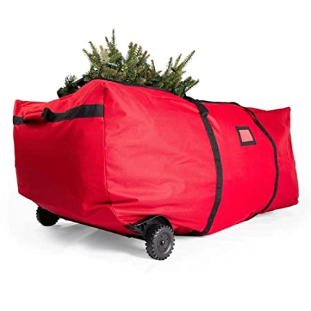 Large Heavy Duty Christmas Tree Storage Bag With Wheels Fits Tree Up To  2.7m/