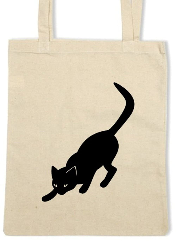 Cats Design Cotton Shopper