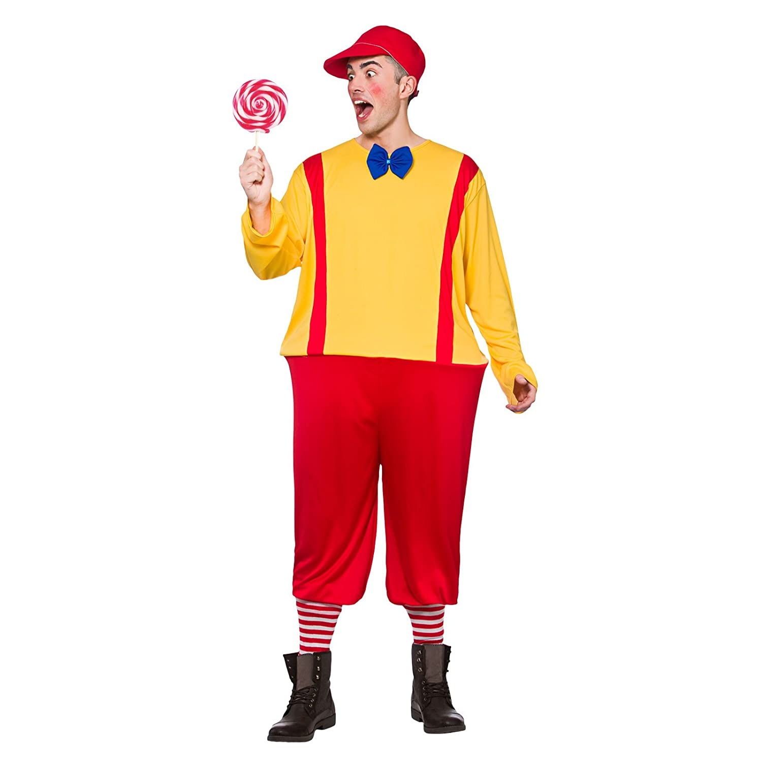 Boys Storybook Twin Red Yellow Fancy Dress Up Party Costume