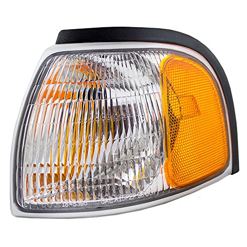 Drivers Park Signal Corner Marker Light Lamp Lens Replacement for Mazda Pickup Truck 1F0051131
