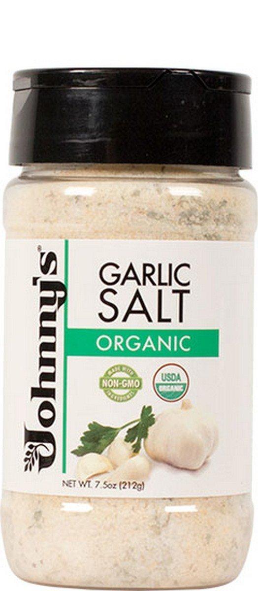 Johnny's Organic Garlic Salt, 6 Count