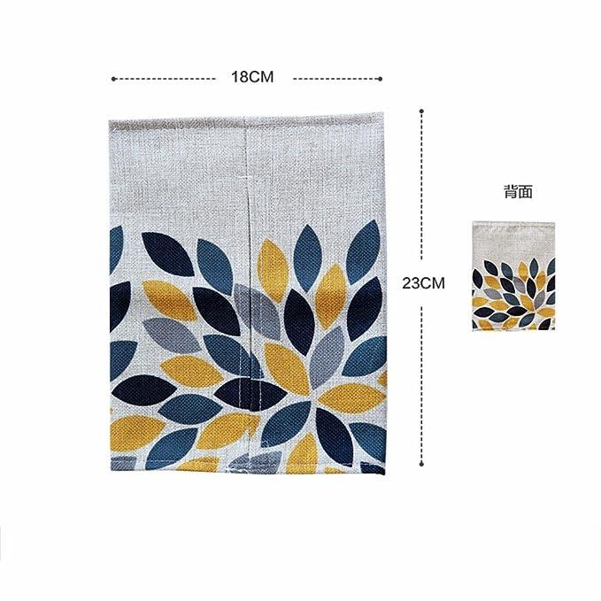 LOSTRYY Bolsa de Tela de Lino de algodón hogar Alquiler de Toallas de Papel, Caja c: Amazon.es: Hogar