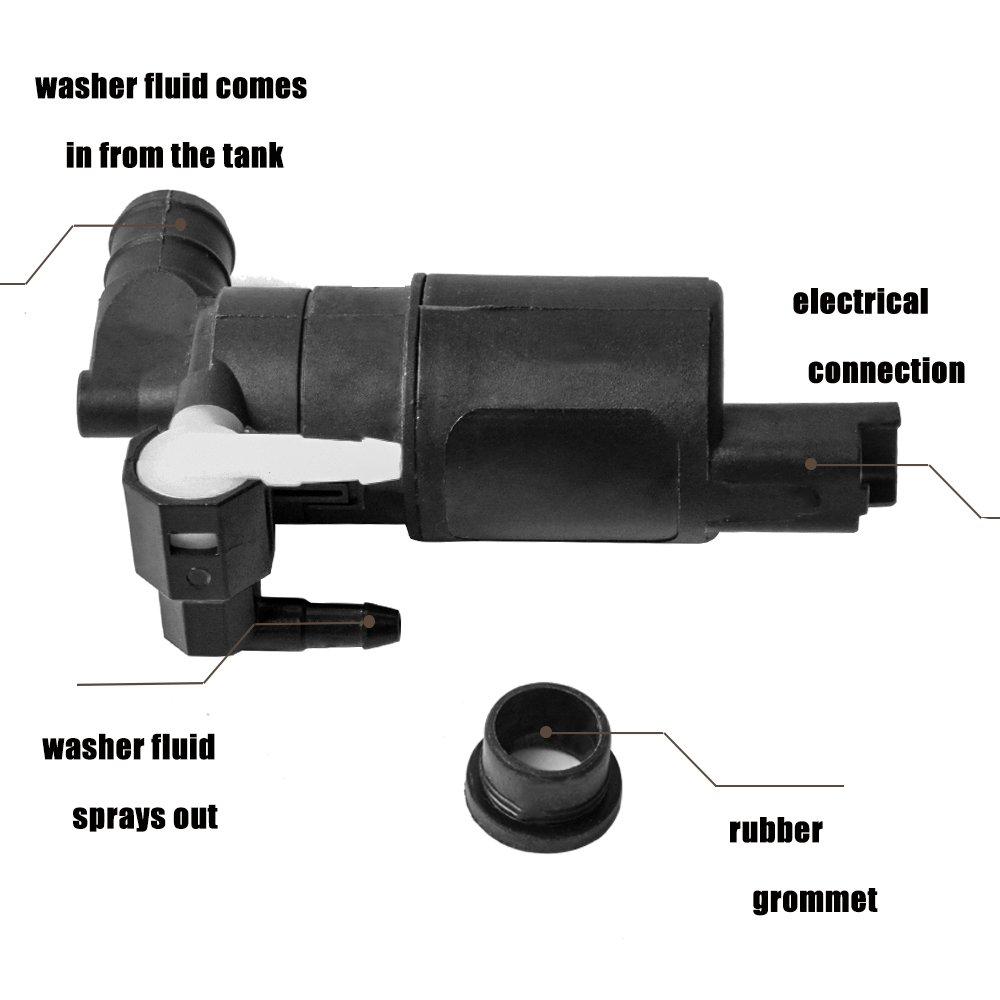 Pompe /à eau de nettoyage pour lave-glace