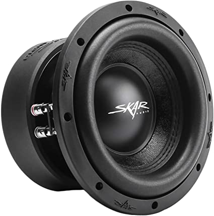 VVX-8V3 D4 800 Watt Max Power 8 Subwoofers with RP-800.1D Monoblock Sub Amplifier Skar Audio 2 4 Gauge Amp Kit