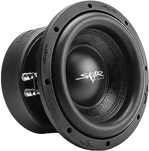 "Skar Audio SVR-8 D4 8"" 800 Watt Max Power Dual 4 Ohm Car Subwoofer"