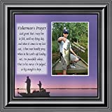Cheap Fishermans Prayer, Personalized Fishermens Gifts for the One You Love, Fishing Décor Picture Frame 10X10 9701B