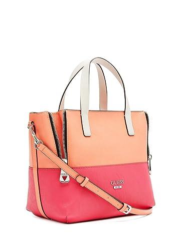 Amazon.com  GUESS Women s Doheny Color-Blocked Satchel Bag 0d113380c85b8