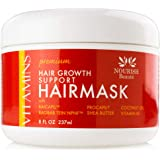 Nourish Beaute Premium Hair Mask for Hair Loss and Deep Conditioning to Promote Hydration and Regrowth on Dry Damaged…